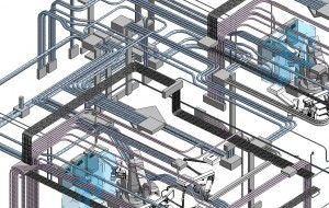 Example of utilizing BIM as an innovative solution