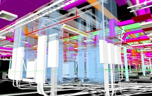 Example of BIM used to finalizing As-Built designs